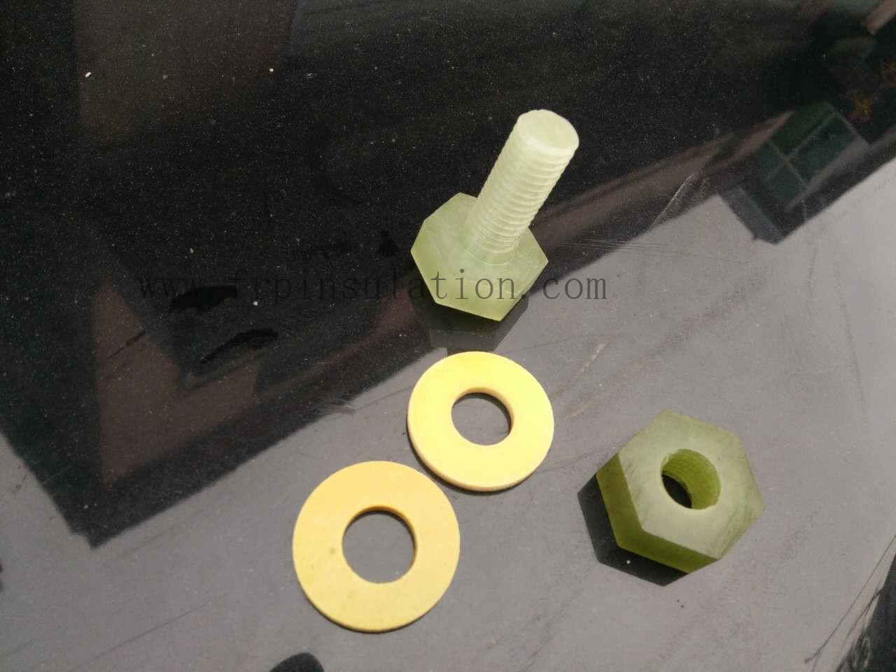 Insulation fastener washer