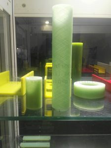 FRP Insulation Fiberglass Filament Winding Tube