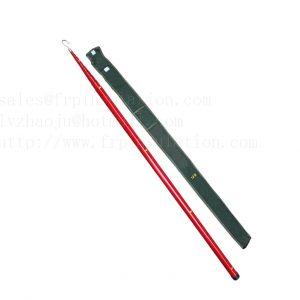 FRP Telescopic fiberglass height measurement rod/stick